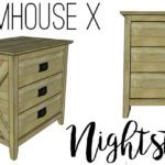 Farmhouse X Nightstand Plans