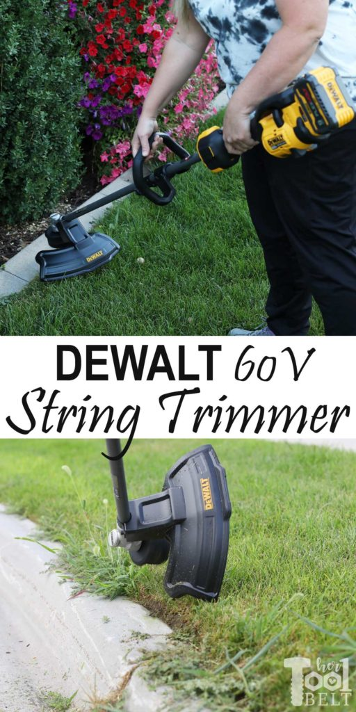 Ditch the gas and carburetor, tool review of the DEWALT 60V string trimmer with the option for interchangeable attachments.