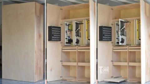 Garage Hand Tool Storage Cabinet Plans
